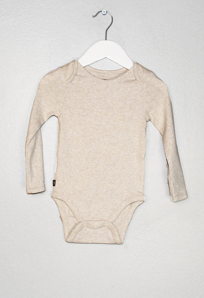 Basically Baby Bodysuit Long Sleeve Onsie - Precious + Posh