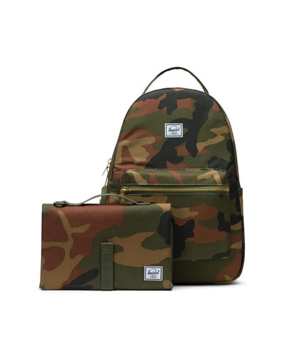 Herschel Diaper Bag Camo