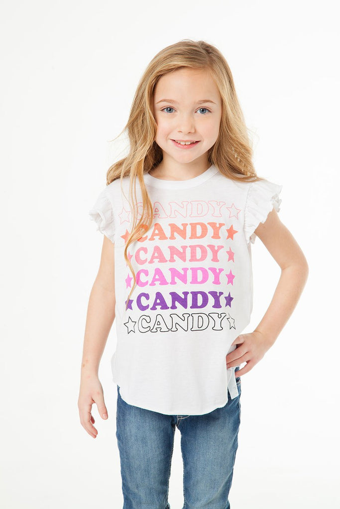 Candy Short Sleeve Tee - Precious + Posh