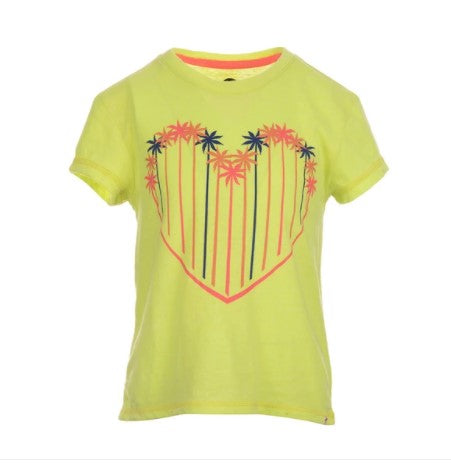 Circle Tee Lemon Fizz
