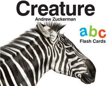 Load image into Gallery viewer, Creature ABC Flash Cards by Andrew Zuckerman