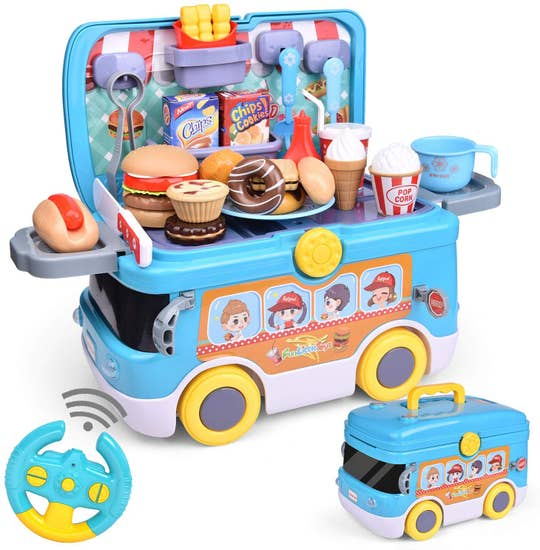 Fun Little Toys Remote Control Car / Truck Pretend Play Food Car