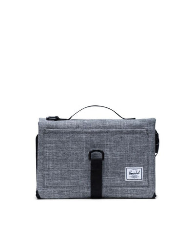 Herschel Change Mat Raven Crosshatch