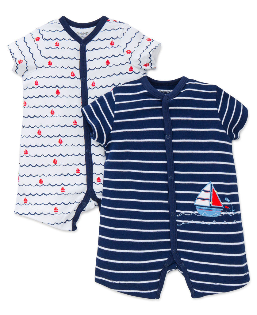 Little Me 2 Piece Romper Nautical - Precious + Posh