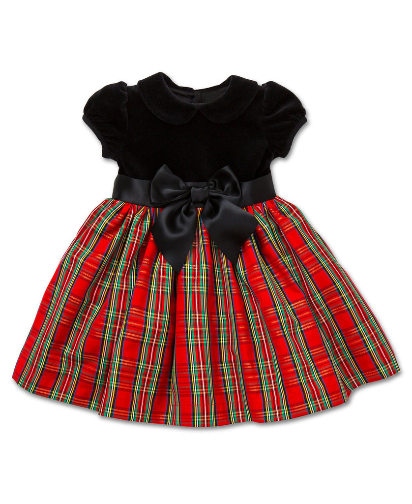 Red Plaid Holiday Dress