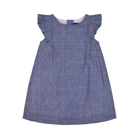 Chambray Multi Color Pane Dress