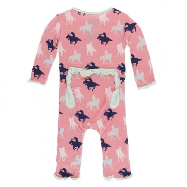 Kickee Pants Print Muffin Coverall with Snaps (More Opitions Available)
