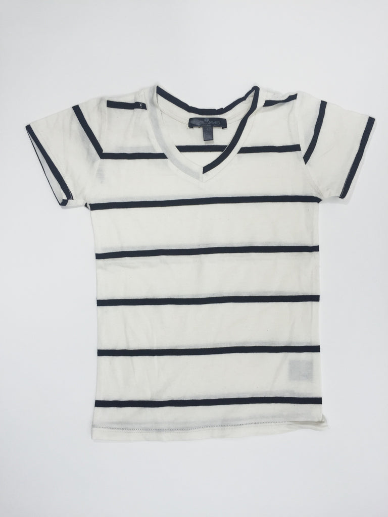 Striped Slub Shirt - Precious + Posh