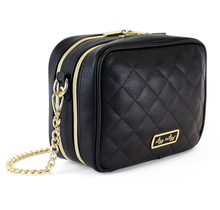 Load image into Gallery viewer, Itzy Ritzy Black Double Take Crossbody Diaper Bag