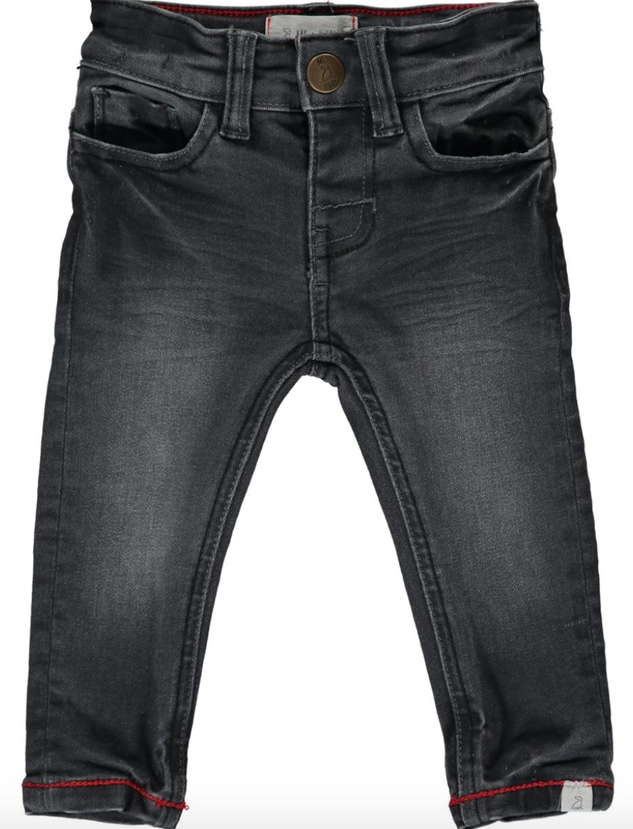Me & Henry Charcoal Slim Fit Denim Jeans