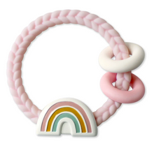 Load image into Gallery viewer, Itzy Ritzy Silicone Teether Rattles