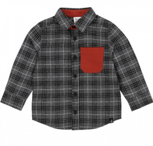 Load image into Gallery viewer, Deux Par Deux Tartan Flannel