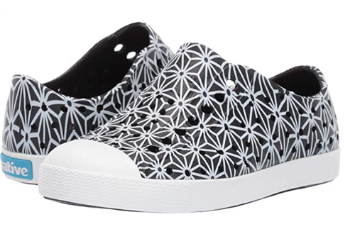 Native Jefferson Print - Jiffy Black/ Shell White/ Asahona