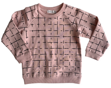Load image into Gallery viewer, Miles Basics Geometric Tiles Sweatshirt