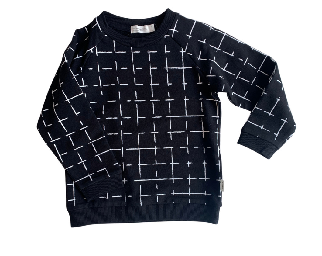 Miles Basics Geometric Tiles Sweatshirt