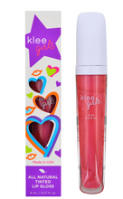 Load image into Gallery viewer, Klee Girls All Natural Tinted Lip Gloss