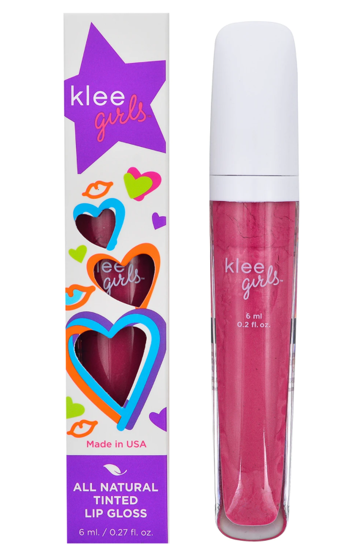 Klee Girls All Natural Tinted Lip Gloss
