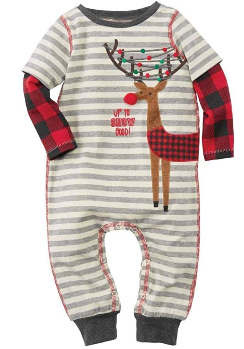 Mud Pie Alpine Reindeer Outfit
