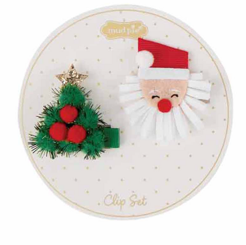 Mud Pie Reindeer and Jingle Bells Clip Set