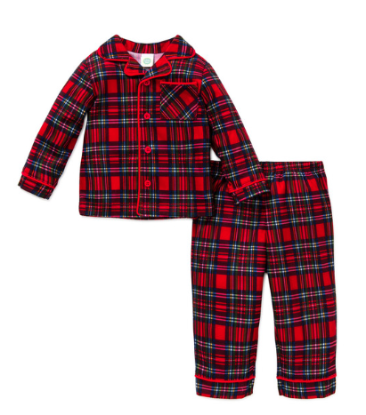 Little Me Red Pajama Set