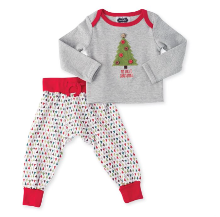 Mud-Pie Fist Christmas Two Piece Set- Precious+Posh