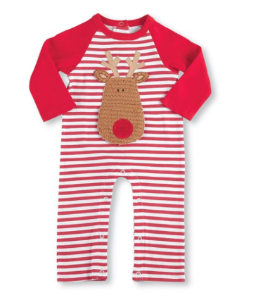 Mud-Pie Reindeer One- Piece