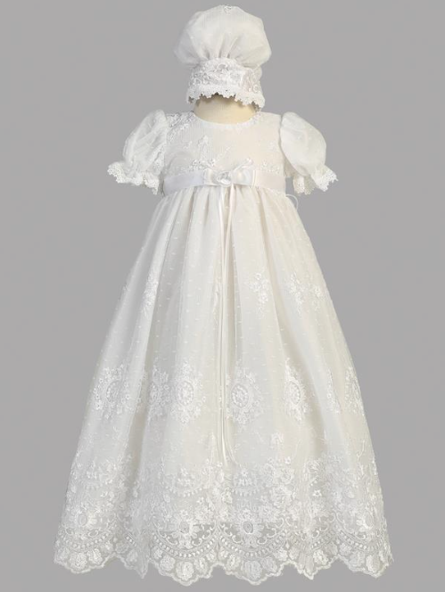 Lito Children's Wear Madison Christening Dress- Precious+ Posh