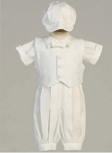 Allen Christening Outfit - Precious + Posh