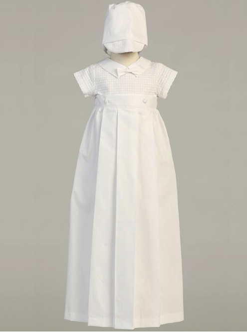 Lito Children's Wear Mason Christening Outfit-Precious+Posh