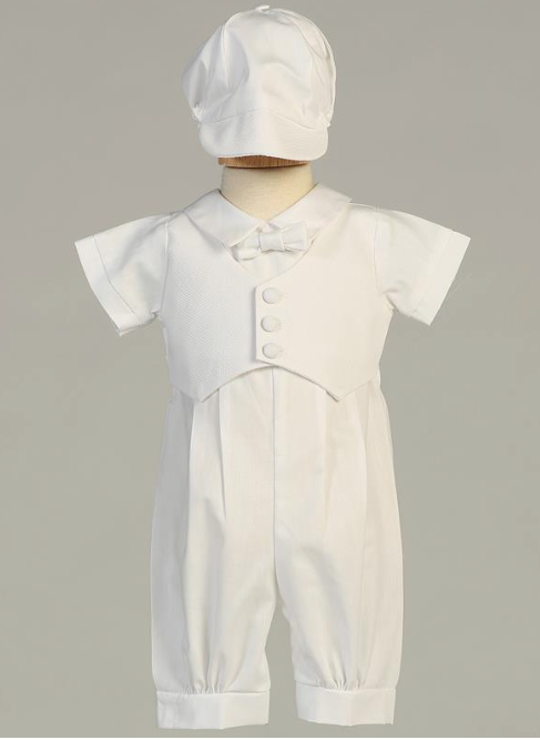 Lito Children's Wear Tyler Christening Outfit- Precious+Posh