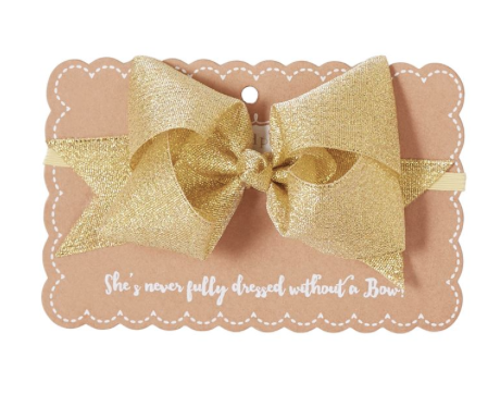 Bow Headband - Precious + Posh