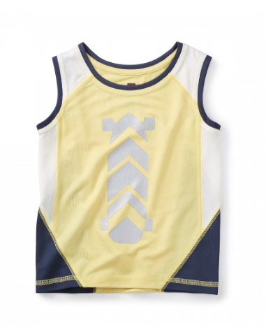 Tea Collection Skate Active Tank - Precious + Posh