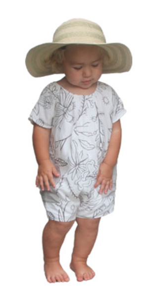 Young & Free Short Flower Romper - Precious + Posh