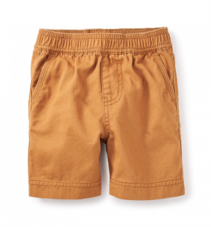 Tea Collection Easy Does it Twill Baby Shorts - Precious + Posh