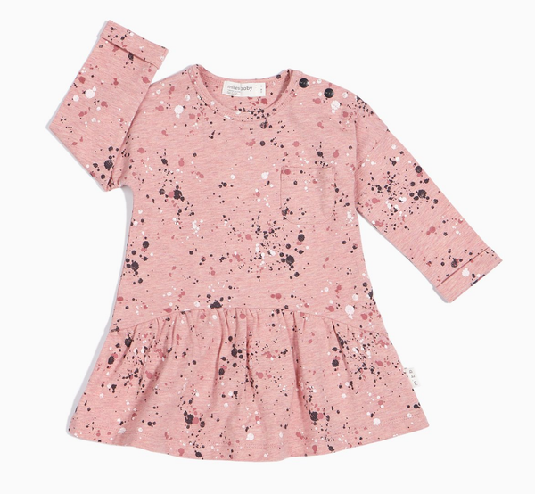 Pink Splatter Dress