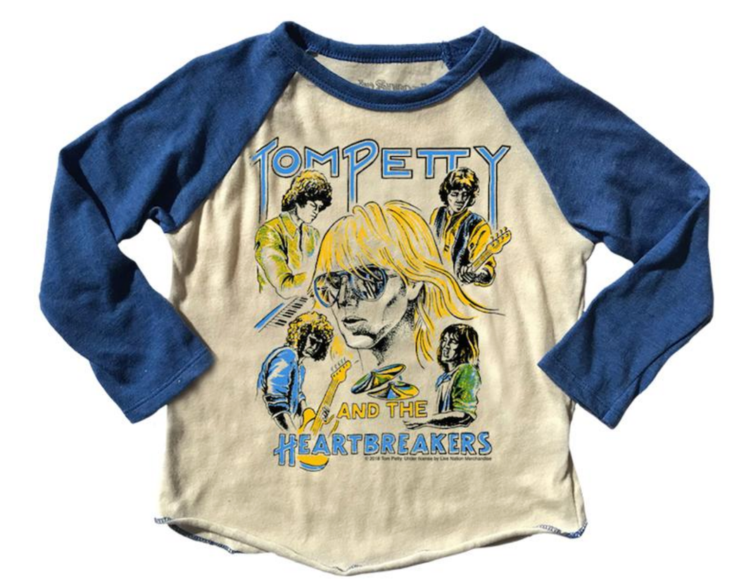 Tom Petty Long Sleeve Raglan Tee