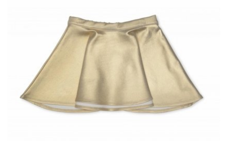 Kate Mack Gold Skirt