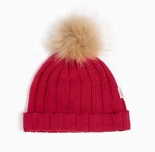 Load image into Gallery viewer, Miles Baby Pom Pom Hat