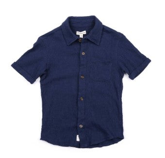 Beach Shirt Navy Blue