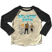 Load image into Gallery viewer, Rowdy Sprout Beastie Boys Raglan Tee