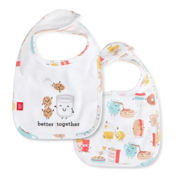 Magnetic Me Better Together Organic Reversible Bib