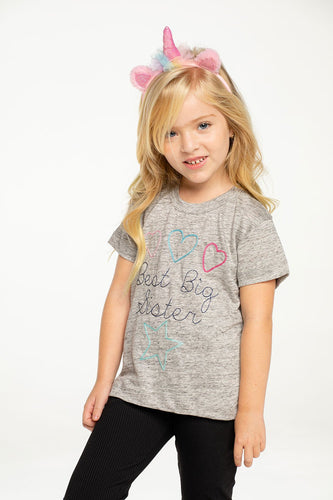 Chaser Best Big Sister Tee