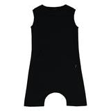 Boy Romper Black - Precious + Posh