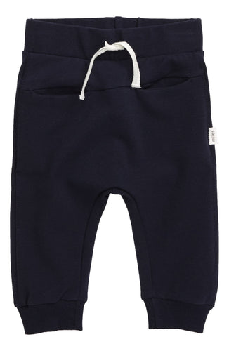 Miles Baby Black Jogger