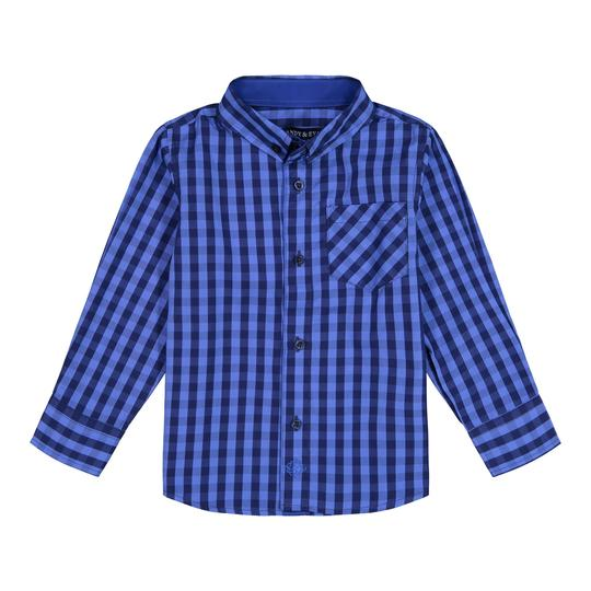 Andy and Evan Blue Buffalo Check Button Down