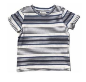 Me & Henry Blue Multi Stripe Tee