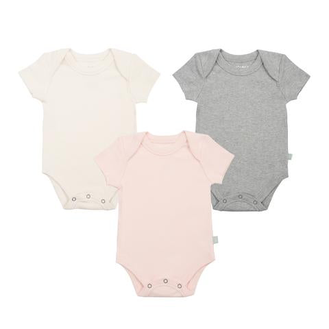 Finn + Emma Solid Basics Lap Bodysuit - 3 Pack (More Colors Available)
