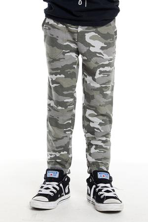 Chaser Boys Love Knit Lounge Pant w/Strappings Camo