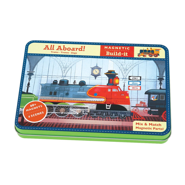 All Aboard Magnetic Build It - Precious + Posh