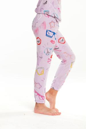 Chaser Cute Glasses Pants